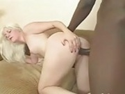 Pale White Girl Loves Black Cock