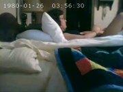 Hidden cam catches my mum masturbating