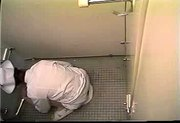 Japanese nurse caught masturbating in toilet - hidden voyeur spycam