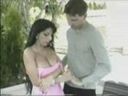 horny bigboobs babe fucking very hardly with her neibour