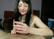 Sensitive Handjob with three Cumshots !!!