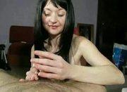 Sensitive Handjob with three Cumshots !!!