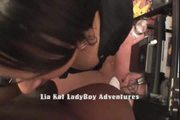 Lia Kat LadyBoy Get Smack by BBC