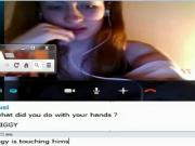 hot red hair girl and dominate me on omegle