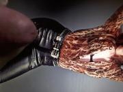 Anna Kendrick leather pants Cum Tribute