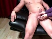 Sloppy amateur handjob - promo