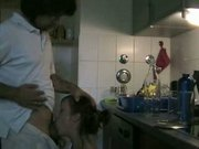 house wife fuck in kitchen