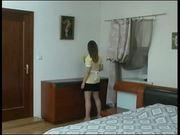 Russian teen maid anal fuck JJ