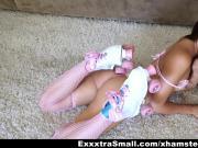 ExxxtraSmall - Cutie Rollergirl Fucked Hard