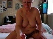 Stolen video of my mum jerking daddy
