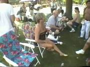 Fun at a Nudist rally 10