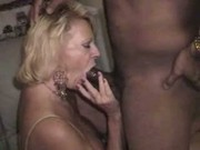 Sexy Mature Blonde gettin BBC