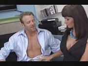 Brunette MILF gets laid