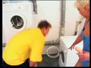 Laundry Room Sex With Sandy