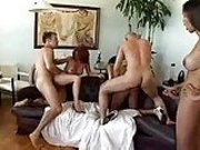 Tranny Mini Orgy M27