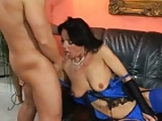 Huren Omas - Lady in Blue