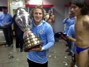 Caceres - Celebracion Uruguay