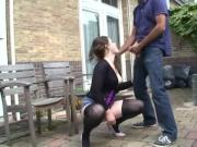 Outdoor Hardcore Fucking By Horny German Girl