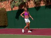 natalia x forrest masturbation tennis court