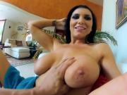 Romi Rain gets her tight pussy pounded by Derrick Pierce