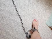 No escape for shackled feet