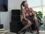 Wank it for Hannah Perez's huge tits