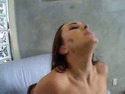 Teen having a squirting Orgasm
