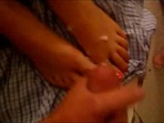mitch and ashley foot job