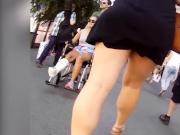 lovely teen ass and legs