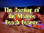 Mature Beach Beauty's Porn Casting