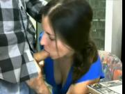 Web cam - Couple in the public library