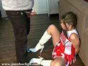 Cheerleader Captured For Fucking - Jocoboclips