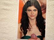 Cum on Alexandra Daddario Tribute