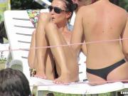 Topless Girls Beach Voyeur Video