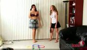 2 amateurs paid for funny sex games