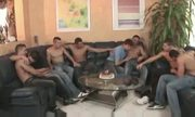 Gay Creampie Orgy