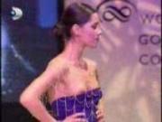 Nipple slip video - fashion show