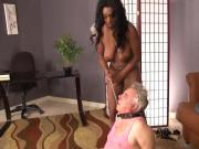 Curvy ebony mistress dominatrix 3