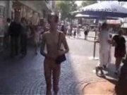 Nude in Public - Karlsruhe Germany