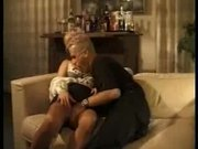 Blonde German MILF enjoys fresh meat