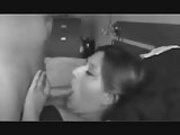 Night vision Bedtime blowjob