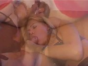 Ita - Mistress strapon + slave + transsexual threesomes 2-2