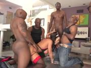 The Mover's Gangbang house wife