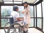 Japanese Wife Widow takes care of Father-in-Law MrBonham
