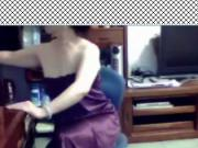 BEIJING Chinese wife show tits on webcam very happy-2