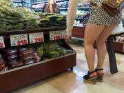 Sexy Legs Walk 028