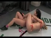 Isis Love and Bobbi Starr vs. Wenona and Christina Aguchi