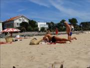 vieille a la plage