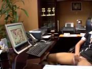 Caught masturbating at work