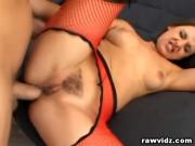 Hot Babe Gets Her Tight Ass Fucked Hard And Gaped